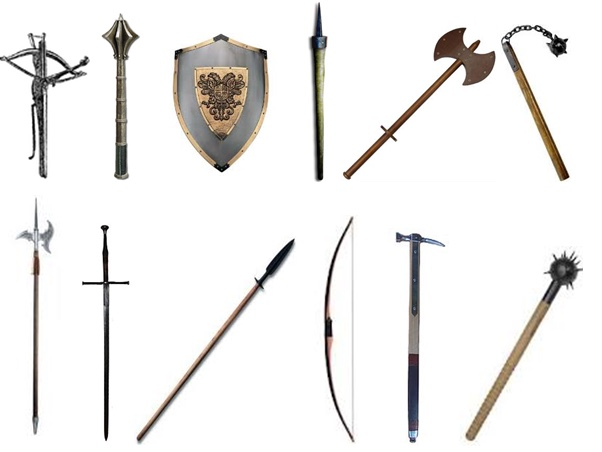 Medieval Weapons - ThingLink