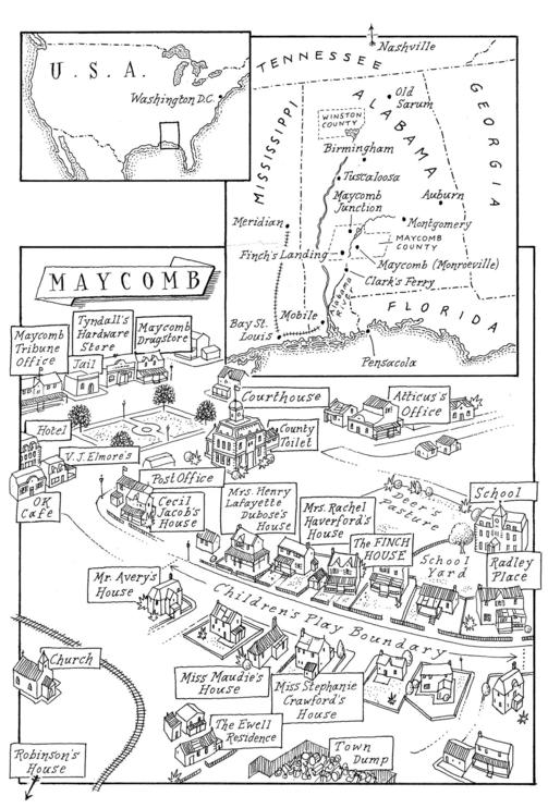 A Map of Maycomb