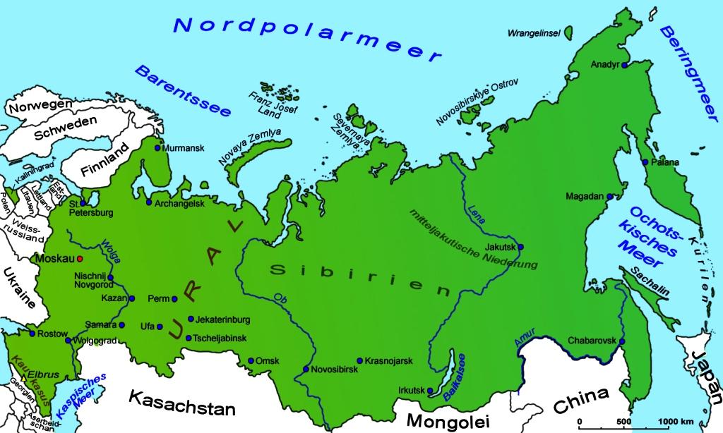 10 Grossten Stadte Russlands