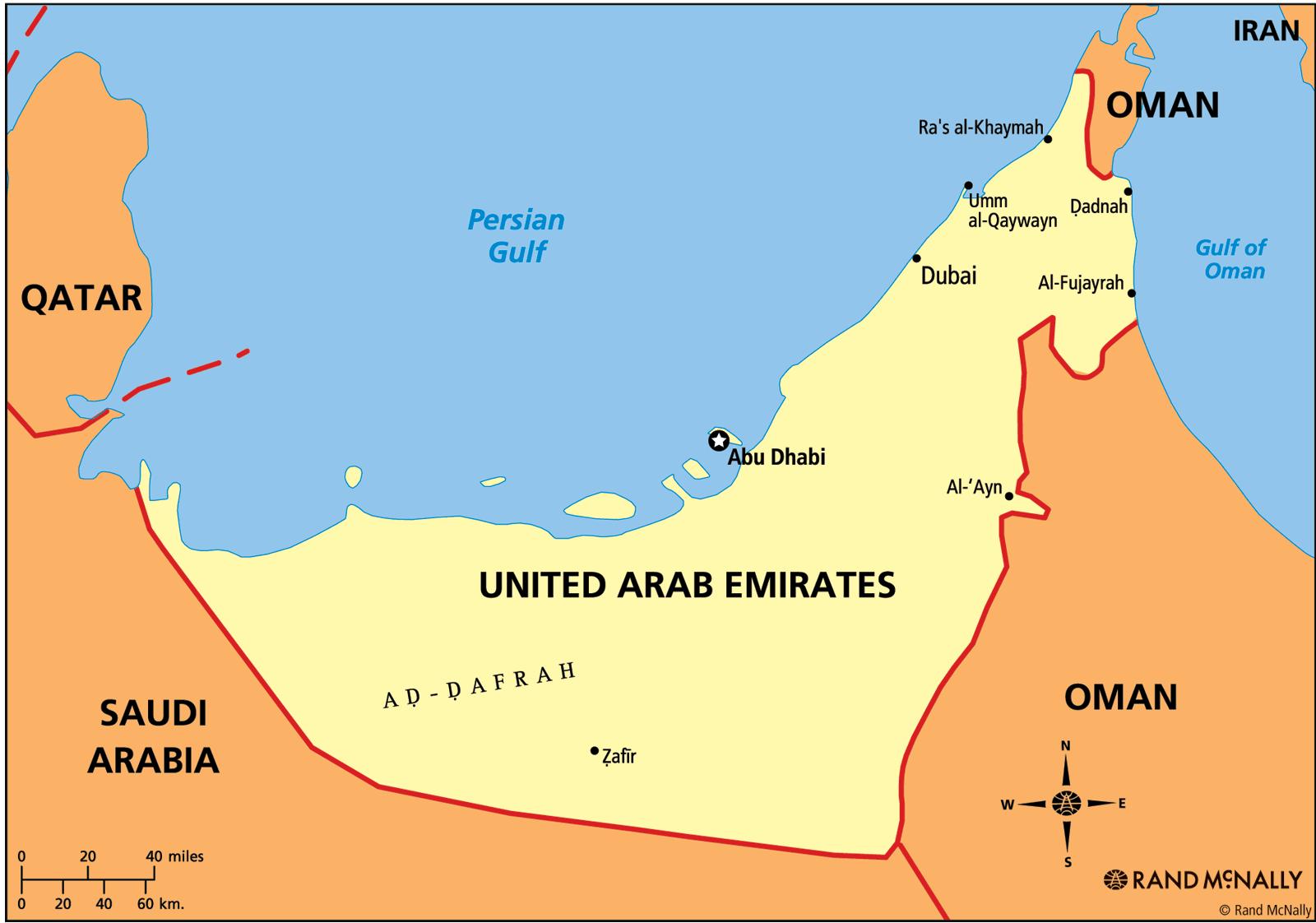 United Arab Emirates ThingLink – Dubai United Arab Emirates Map