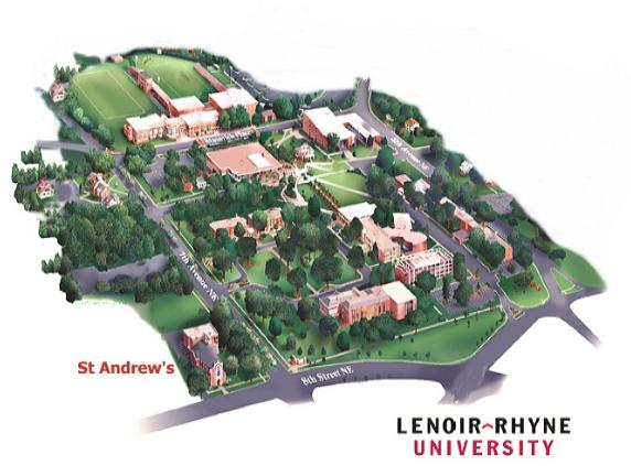 Lru Campus Map
