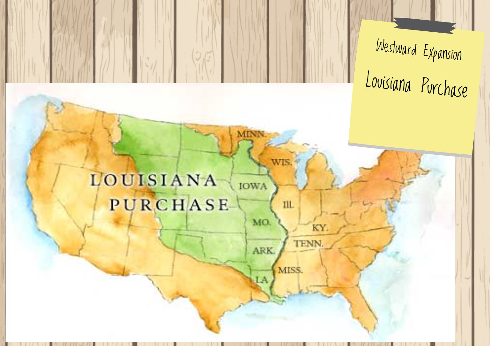 The Louisiana Purchase BY Ide Strickland ThingLink