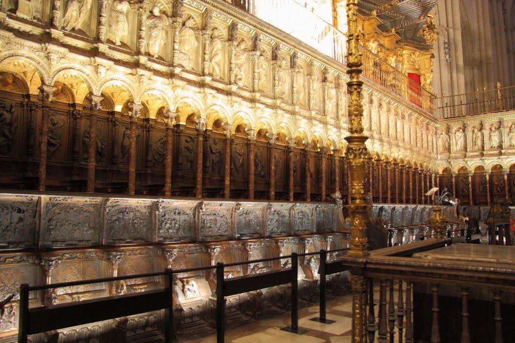 Silleria De La Catedral De Toledo