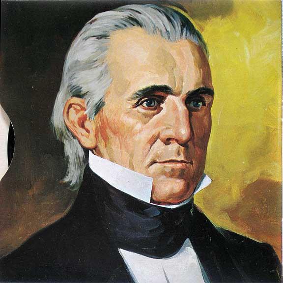james k polk was the last jacksonian president who annex