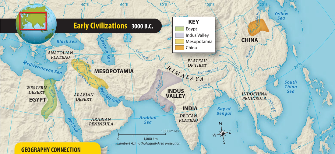 Ancient River Valley Civilizations - ThingLink