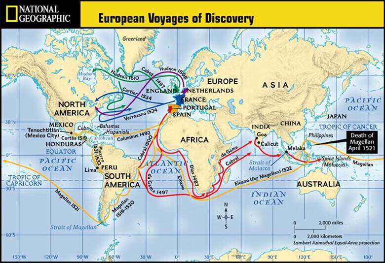 european exploration 1450 1600 Human mobility, in terms of european transcontinental exploration and colonization, began to truly flourish after the 1400s this travel, inspired by financial motives and justified by religious goals, resulted in the european dominance and decimation of countless cultures in both the americas and.