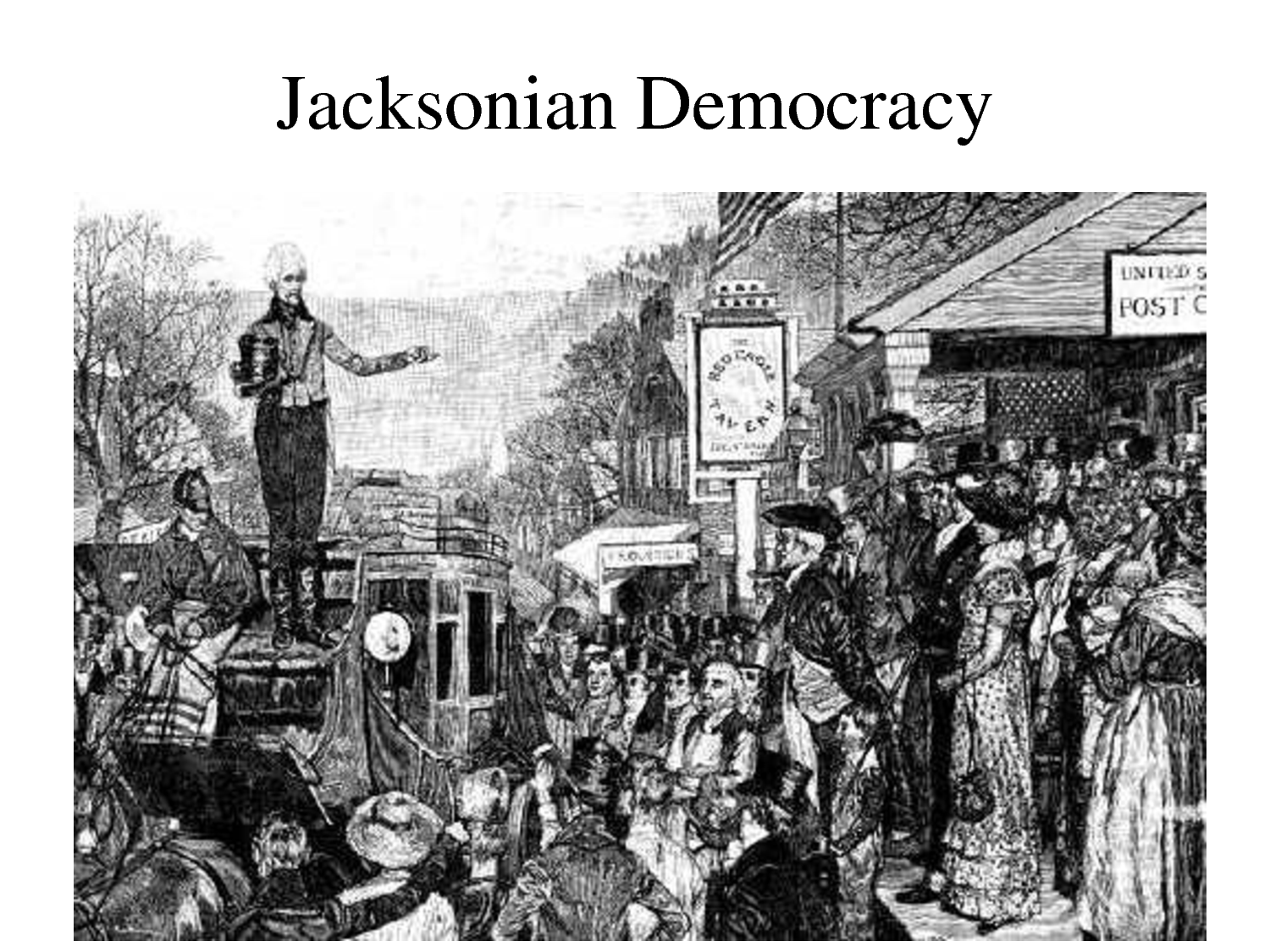 the native american policy of the jacksonian era in the united states The united states in the jackson era  a microcosm of america, with two  favorite sons battling for the presidency in 1860 the changing politics of the  country.