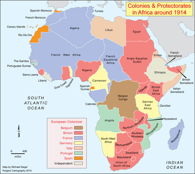 Partition Of Africa Map.The Native People Had No Say In The Partition Of Africa