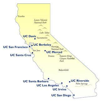 Uc Campus Map
