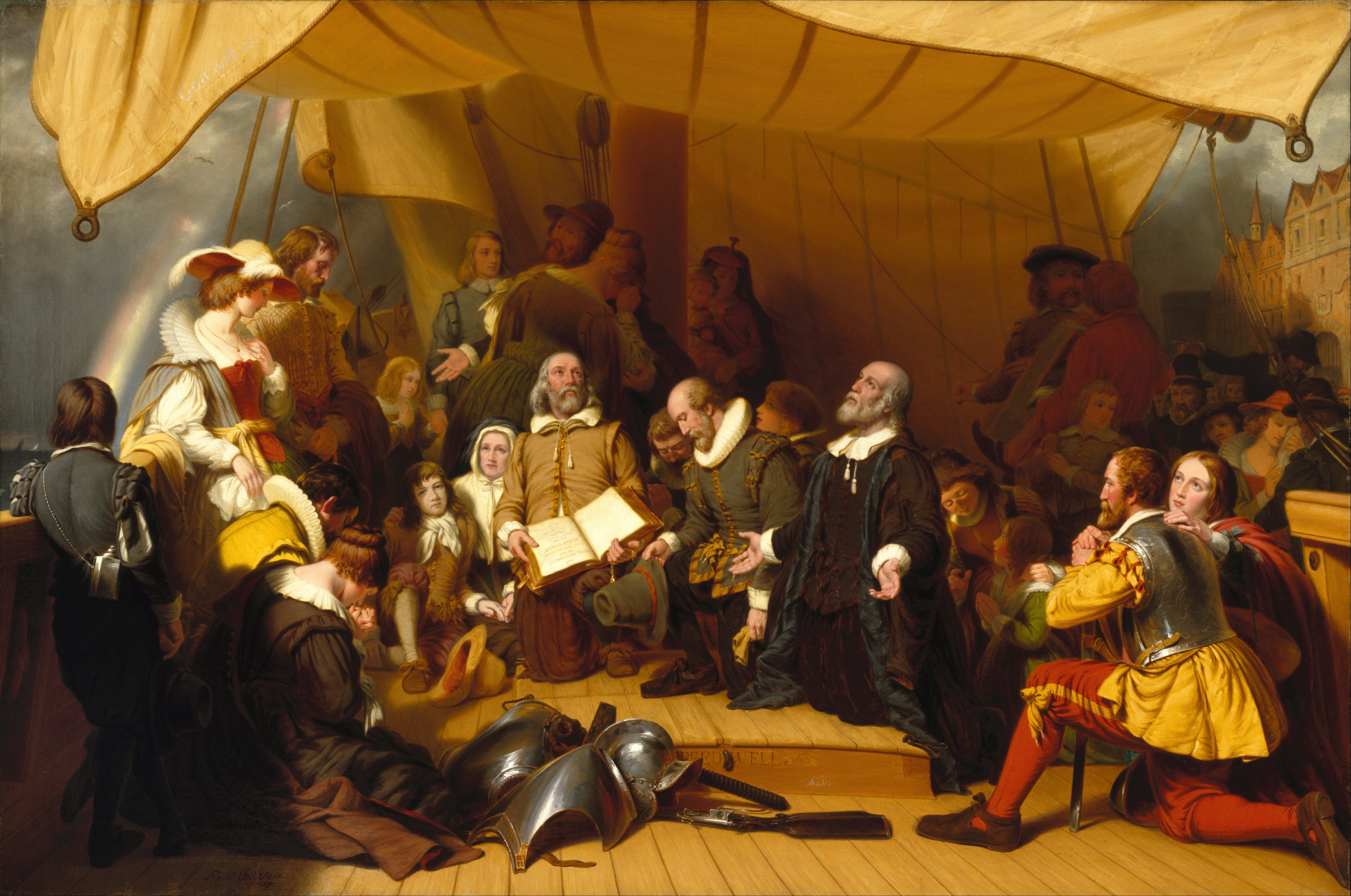 what was the mayflower compact and what is its significance in american history essay