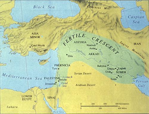 fertile crescent mesopotamia