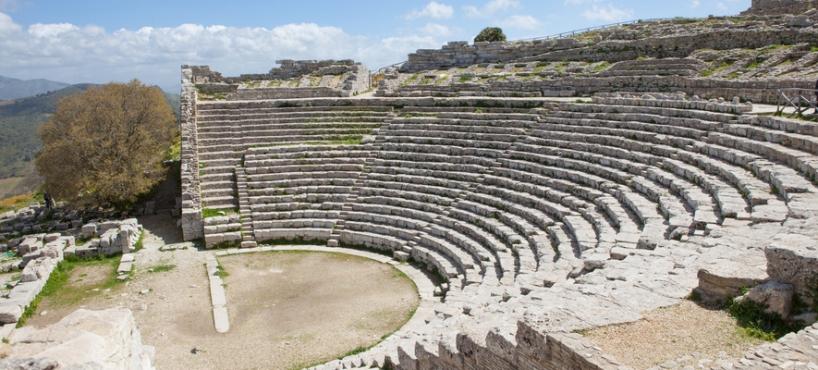 remix of ancient greek theatre