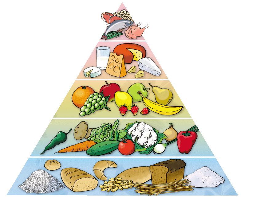 Здоровая еда в картинках для детей