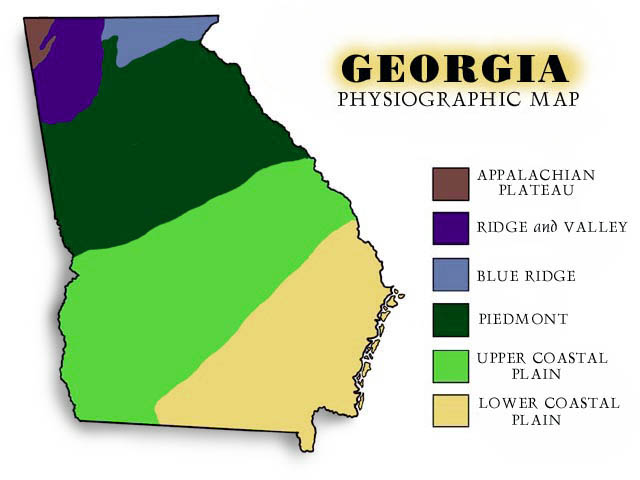 Map Of Georgia Regions ThingLink - Georgia map with regions