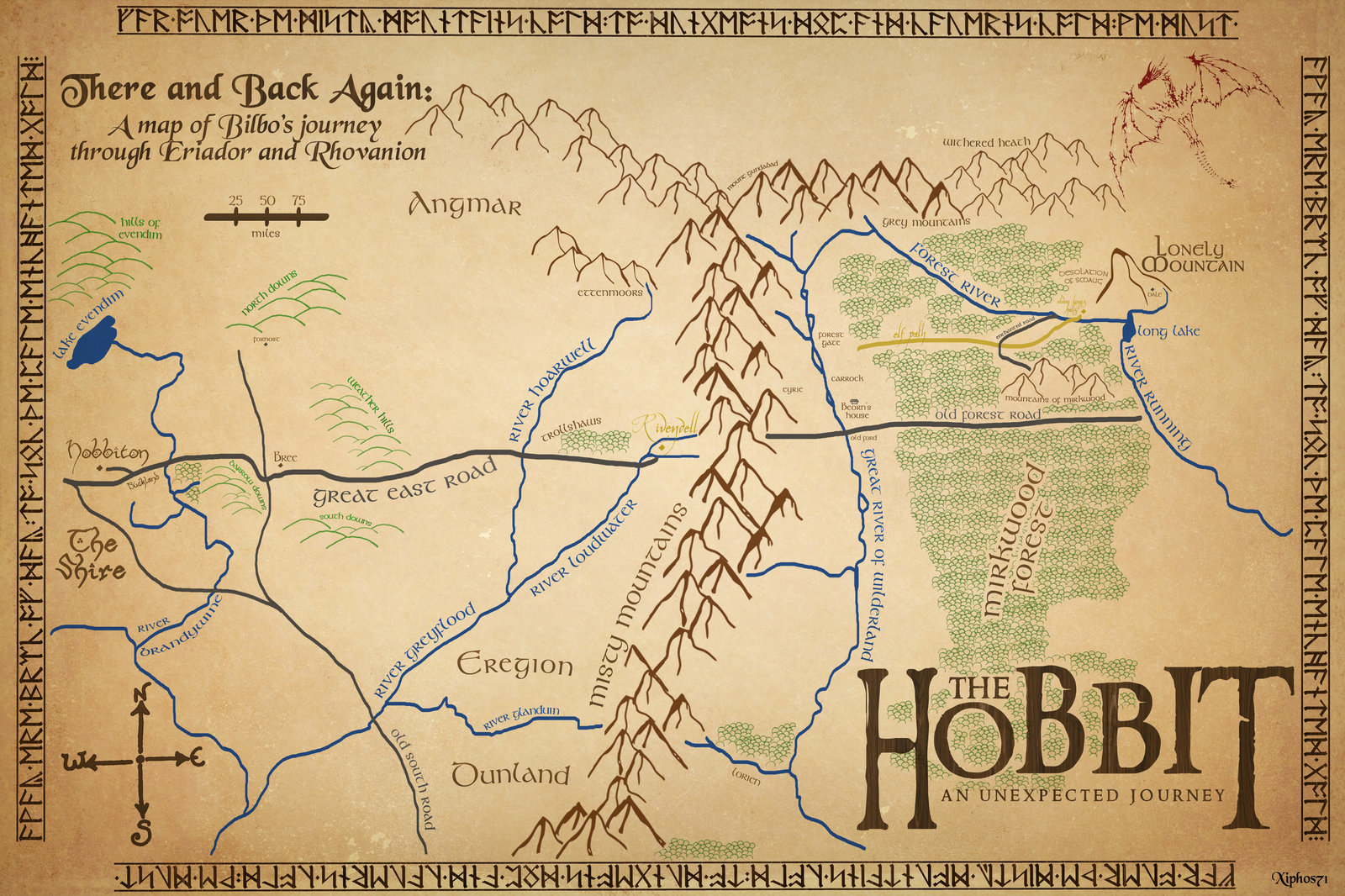 The Hobbit Map  ThingLink