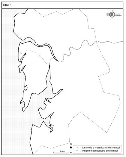 fond de carte bac es C7   Mumbai : inégalités et dynamiques territoriales