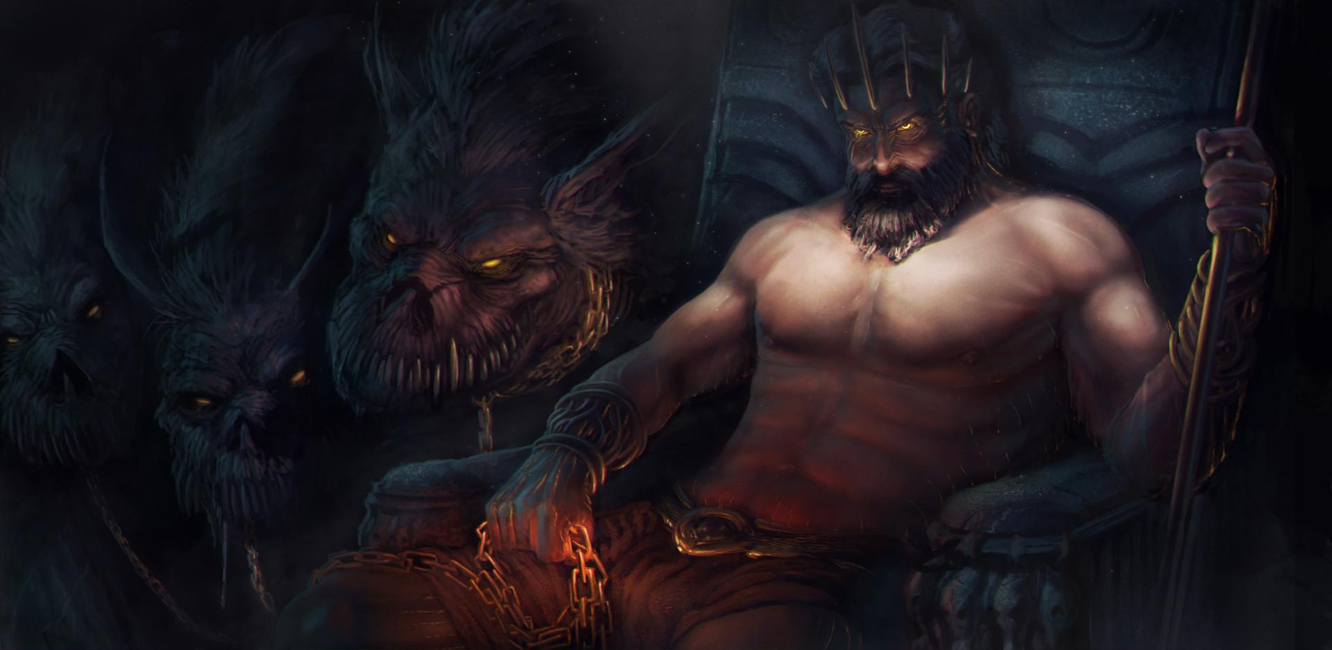 hades el dios de los mounstros