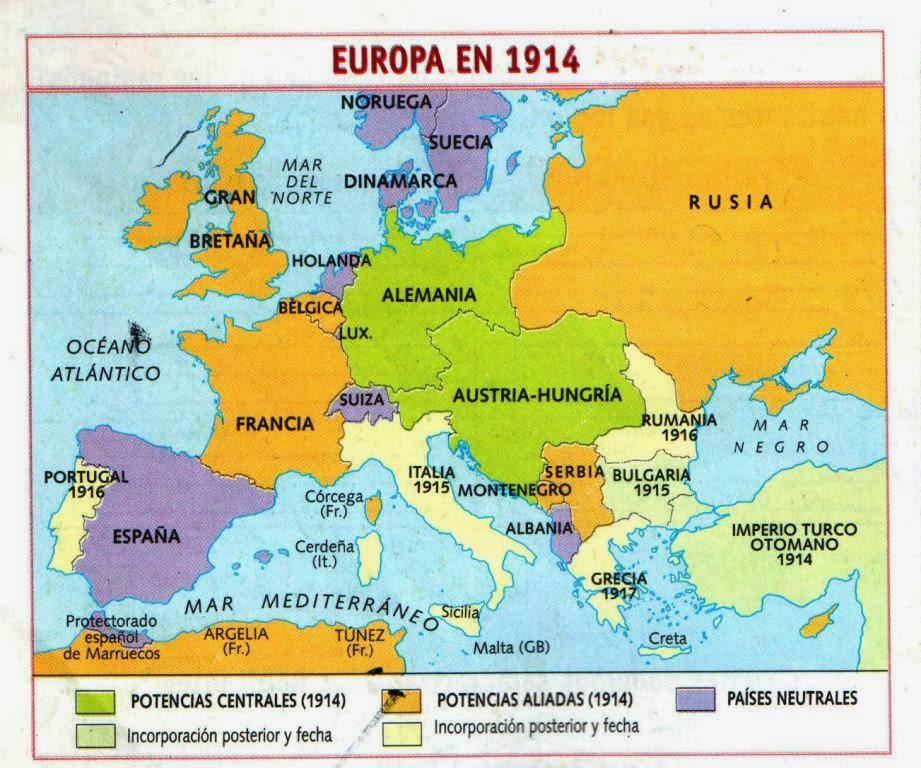 Pgm Europa 1914