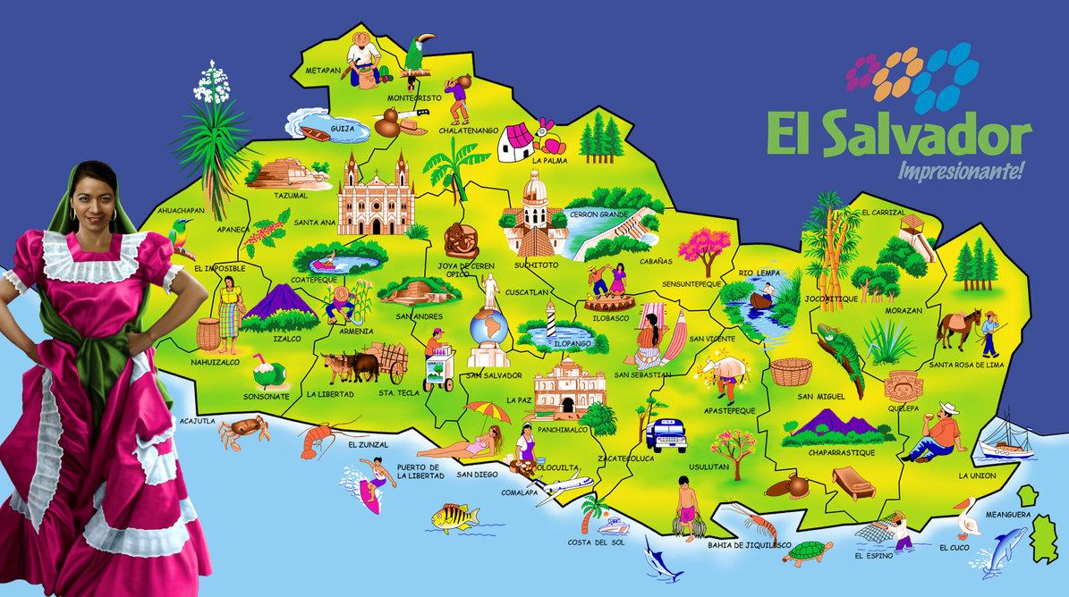 Mapa El Salvador  ThingLink