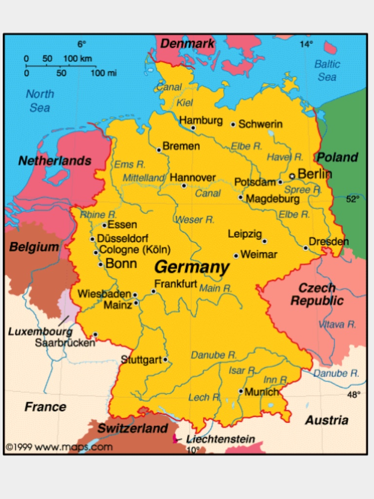 Current Map Of Germany.Dear Diary