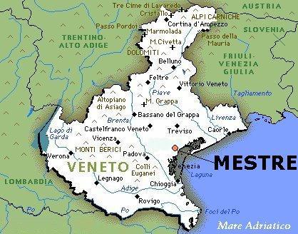 Cartina Veneto Mare.L Arena Di Verona E Molto Simile Al Colosseo Romano Tran