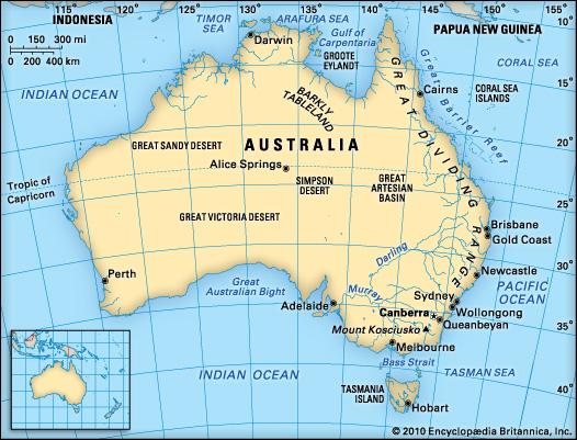 map of australia by kate dario thinglink