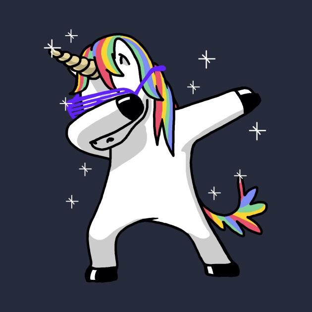 unicorn is dabing