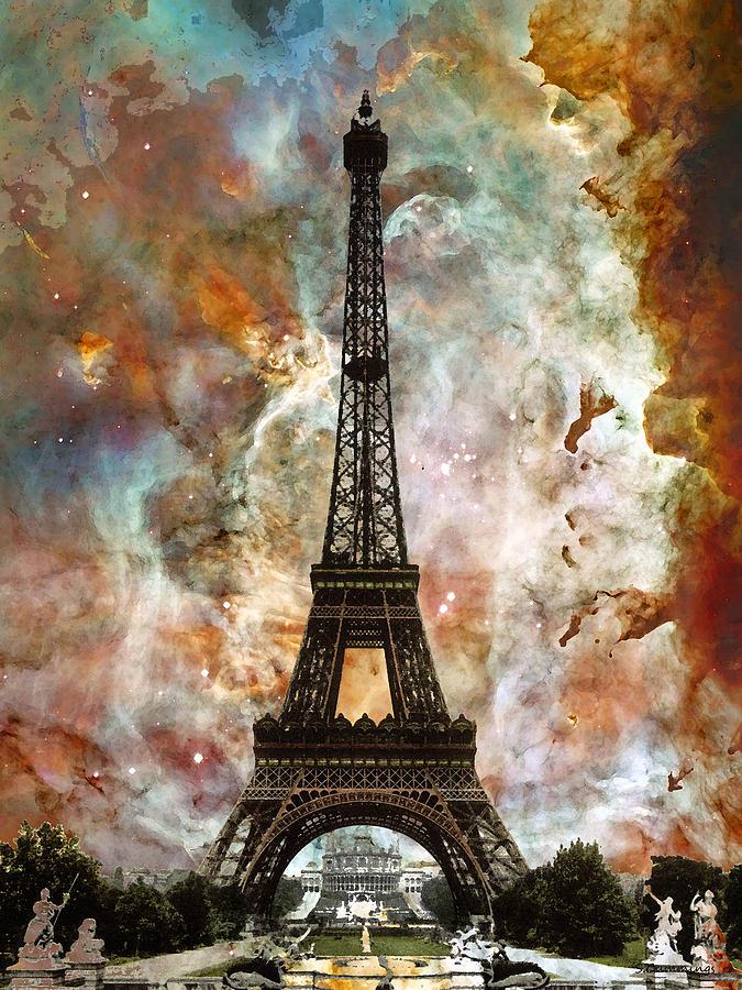 Фото и рисунки с парижем