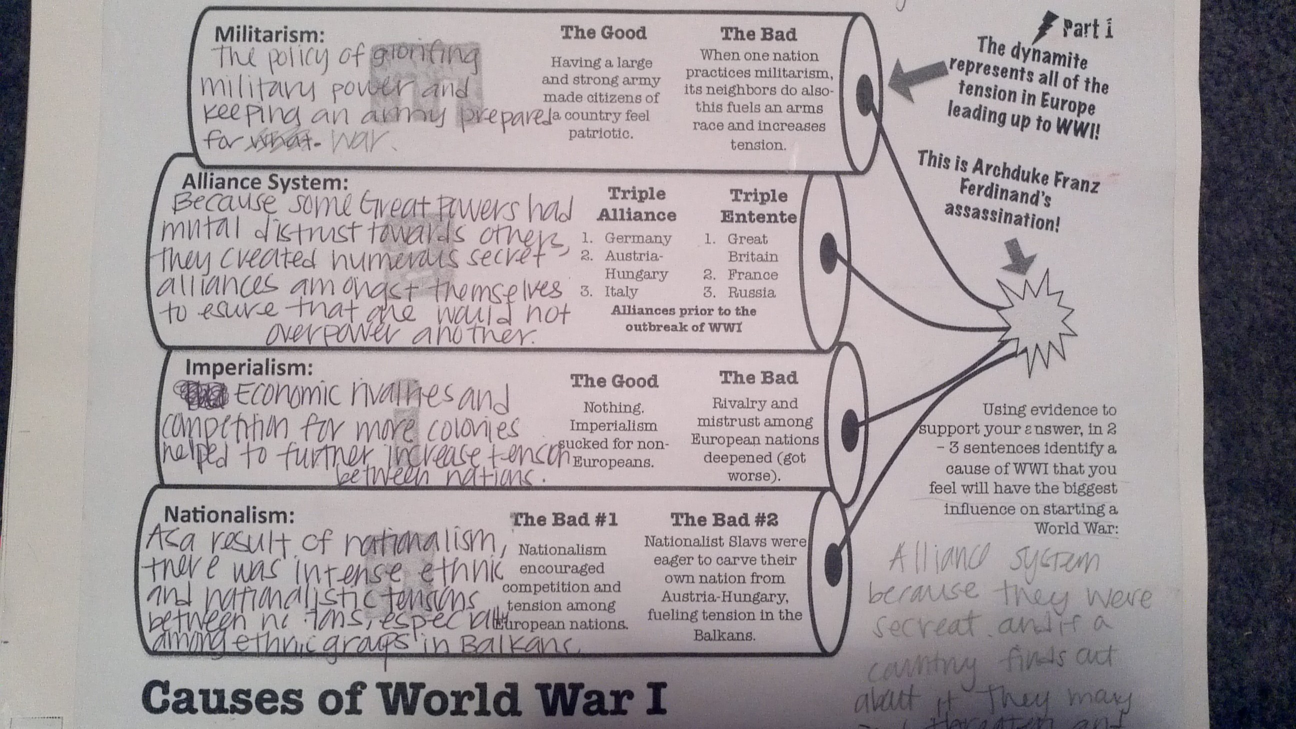 world war i causes and outcomes essay Read this essay on causes and outcomes of the revolution when czar nicholas ii dragged 11 million peasants into world war cause and outcome of war 1754.