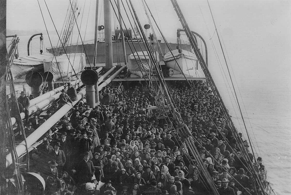 an analysis of the three massive waves of immigration to the american soil in 19th and 20th century For this new wave of immigrants  documentary photo aids – immigration, american history photo student photo analysis worksheet student three text response.