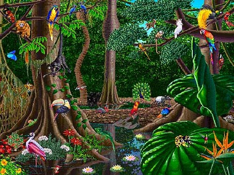 Tropical Rain Forest Ecosystem - ThingLink