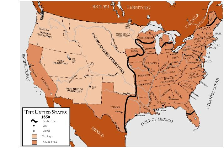 American History 1840s 1850s ThingLink