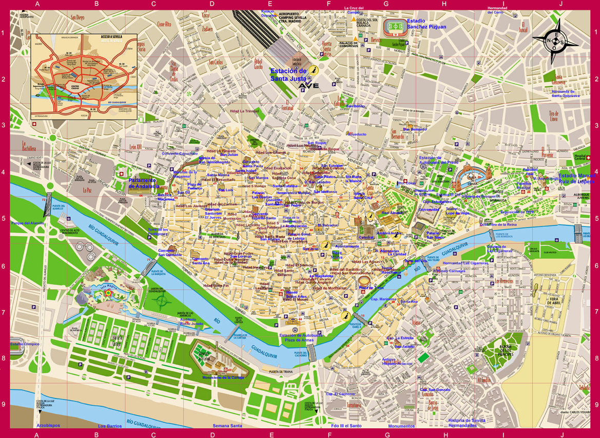 mapa sevilha pdf Id a Sevilla ya que es una ciudad magnífica.   ThingLink mapa sevilha pdf