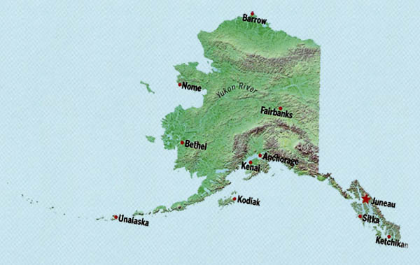 Alaska The Biggest State In The USA ThingLink - Biggest state in usa