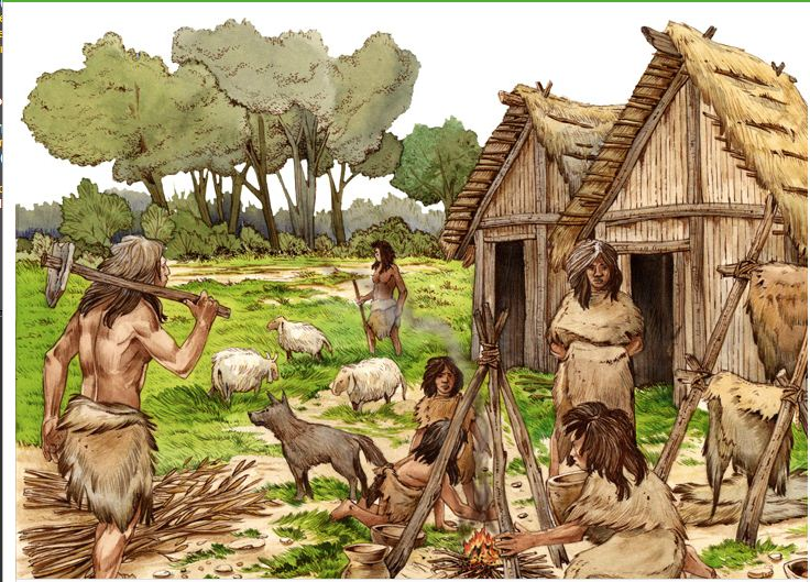 neolithic revolution and the renaissance effects