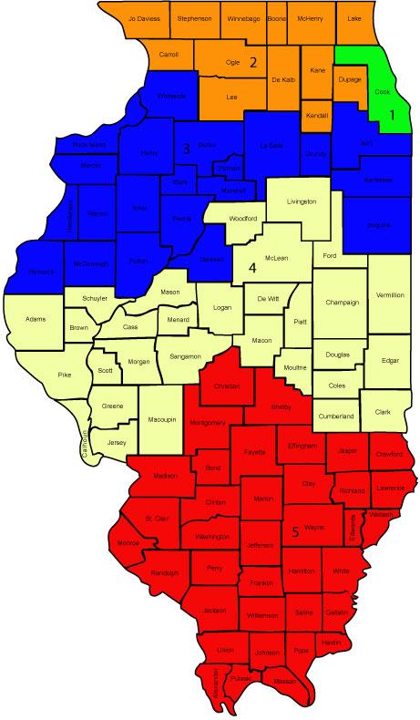 Illinois State Map ThingLink - Us map illinois state
