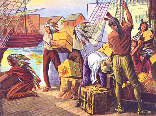 shoemaker and the tea party essay Free essay: the boston tea party though out history many events are interpreted different ways one of these events having multiple points of view is the.