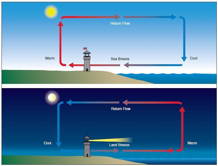 Land And Sea Breeze Ryan Mesnik Thinglink