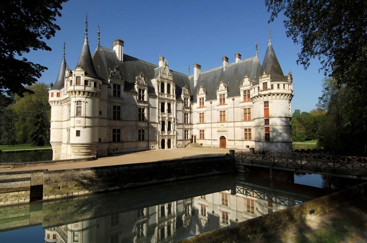 Visite virtuelle d\'#Azay-Le-Rideau