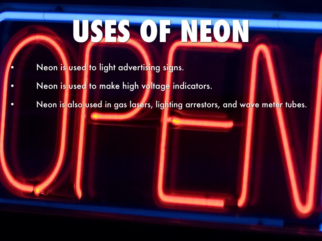properties of neon and its uses Kidsnetau - encyclopedia  neon  search the internet with kidsnetau encyclopedia  neon article physical properties state of matter: gas (nonmagnetic).