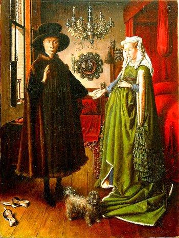 the arnolfini wedding portrait interpretations essay