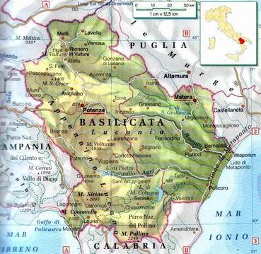 Metaponto Cartina Geografica.I Sassi Di Matera Sono Stati Iscritti Nella Lista Dei Pat