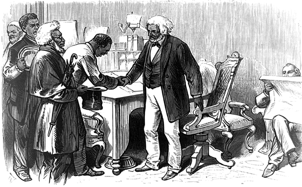 frederick douglass in the shackles of slavery Slave narratives by abolitionist leader frederick douglass essay although brought up in the shackles of slavery, work and motivation led the famous abolitionist fredrick douglass to achieve an impressive education and literacy level with which he was able to express the effect of slavery's cruelty on humanity in his autobiography, speeches.