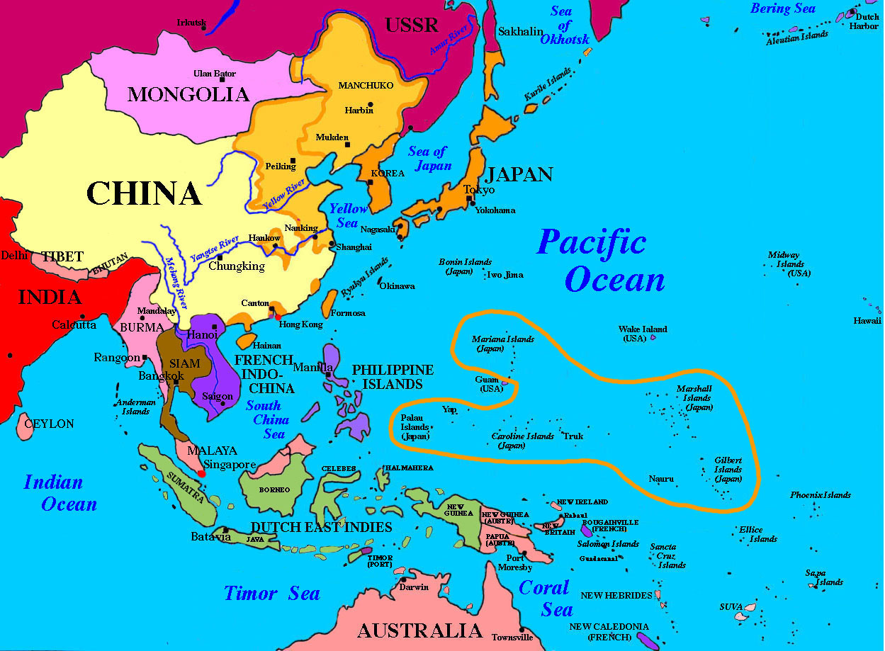 Map of wast asia china russia mongolia japan south korea north korea china pacific map map get free image about world maps map of japan and usa gumiabroncs Choice Image