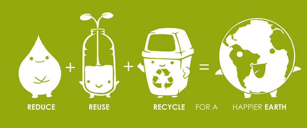 Image result for recycle reuse reduce