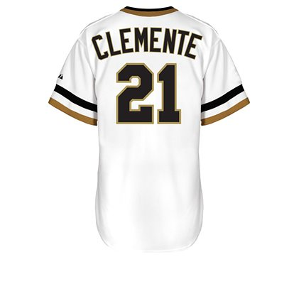 reputable site fed8c b13be Roberto Baseball 21 White 217af Clemente Pirates Greece ...