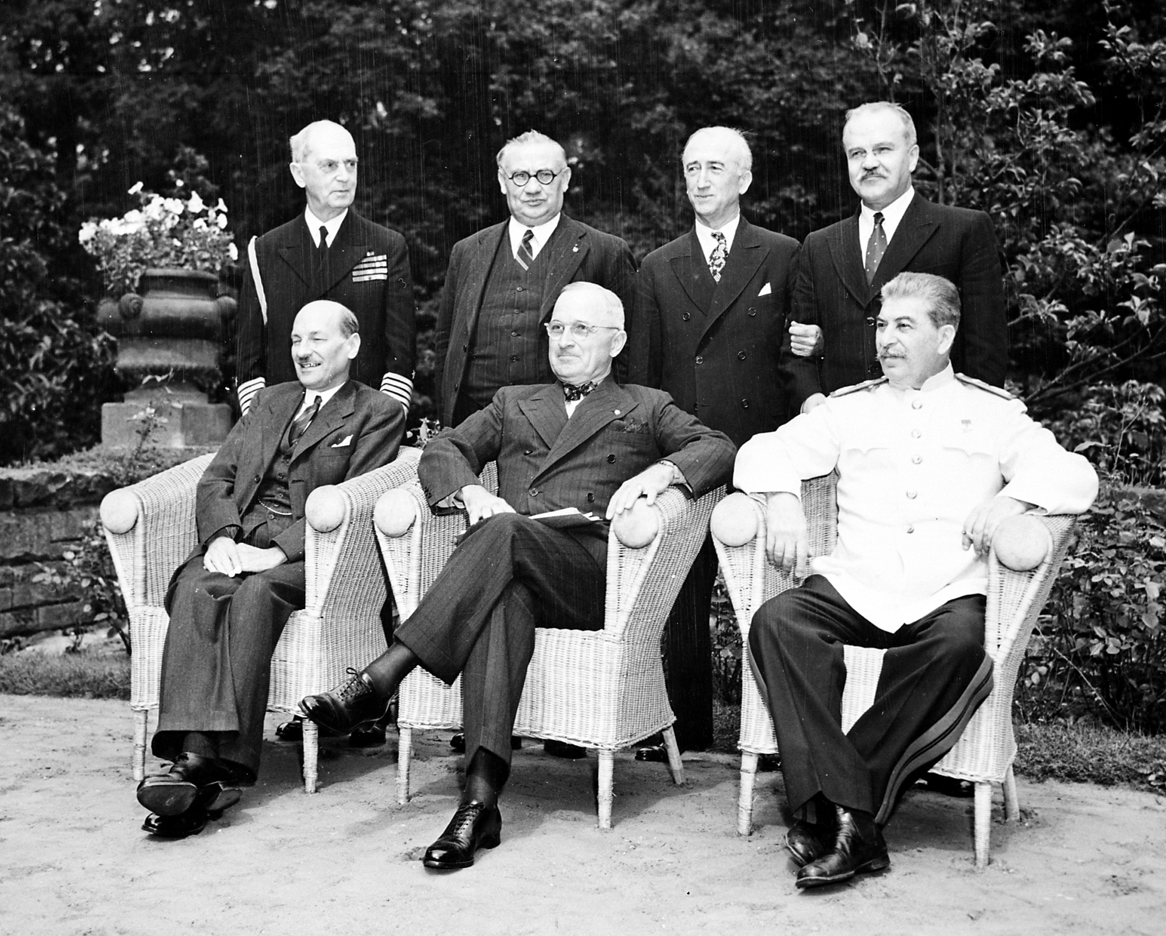 Potsdam Conference, 1945 - ThingLink