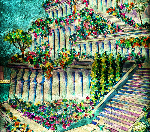 The Hanging Gardens of Babylon! By Briley