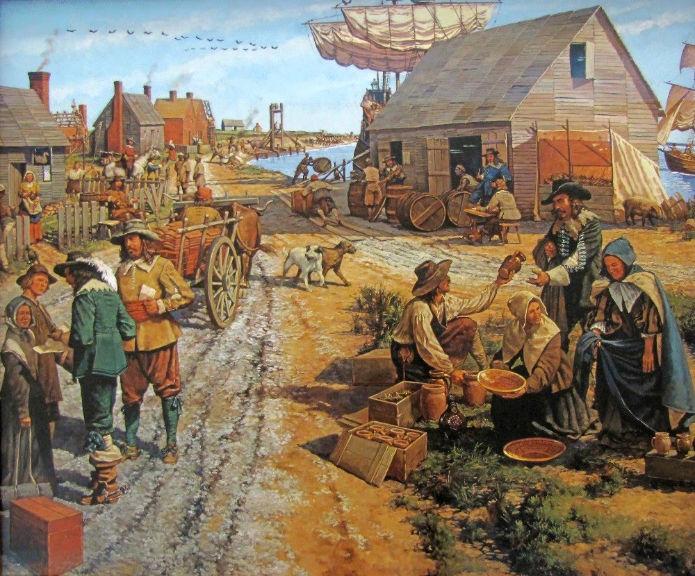 colonial life in the 1700s The first settlers didn't own slaves, but, by the early 1700s, it was the slaves who worked the fields of large plantations slaves were for the rich, however, and the average small farmer generally couldn't afford a slave.