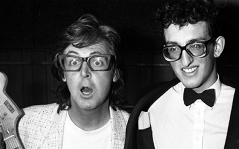 Image result for paul mccartney buddy holly